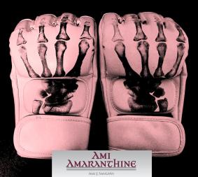 Skull gloves with logo